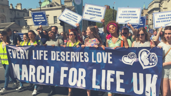 March for Life UK 2018 – Record turn out in the beautiful London sunshine.