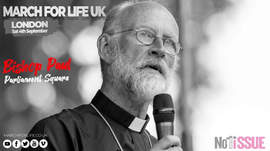 Bishop Paul Swarbrick: Parliament Square: 04.09.21