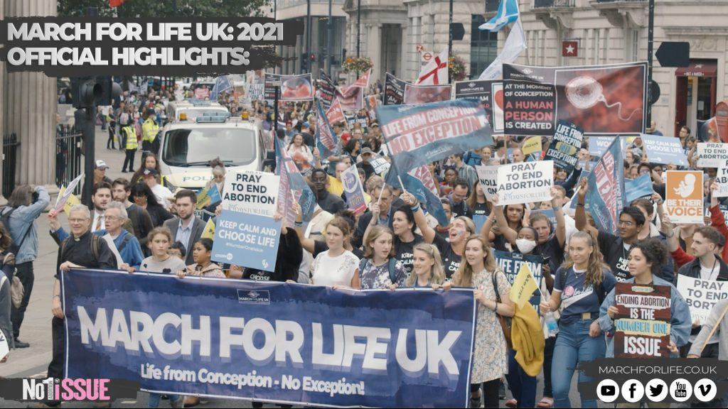 March for Life UK: 2021 Official Highlights Video